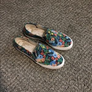 Keds Rifle Paper slip on sneakers 8.5